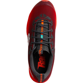 Salming Race 7 Chaussures Femme, forged iron/poppy red
